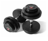 Rubber Covered Dumbbells