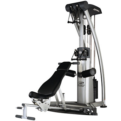 Life Fitness G5 Multi functional Trainer (fully refurbished) with bench