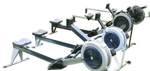 C type Concept II Rower