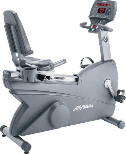 Life Fitness 95Ri Recumbent Cycle